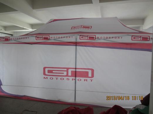 3X6外贸黑金钢广告帐篷