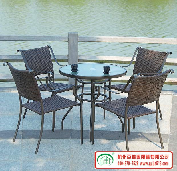 庭外桌椅5件套 BT001
