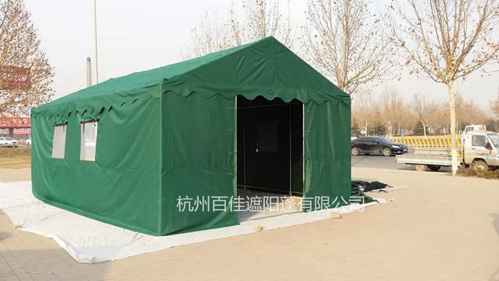 遮阳帐篷定制 5x6救灾帐篷JZ001