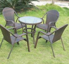 户外桌椅5件套BT003