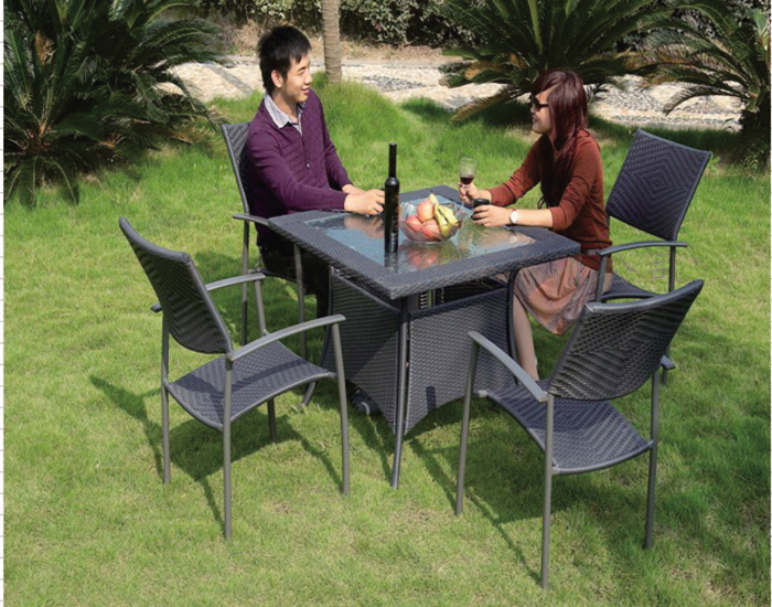 休闲桌椅5件套-GJT025