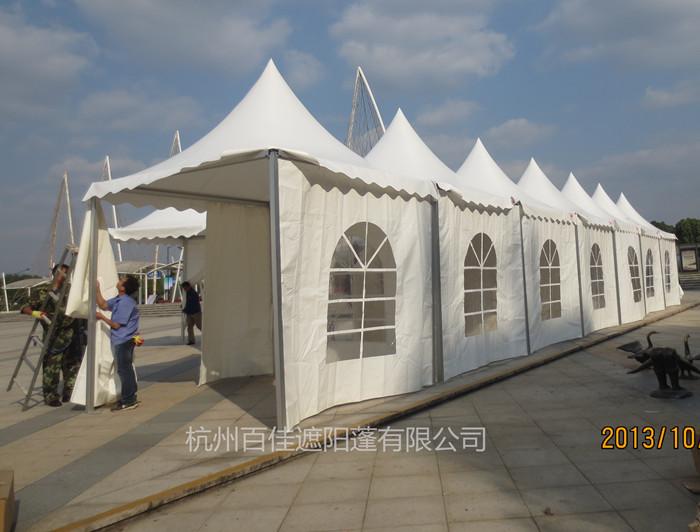 遮阳帐篷定制 3x3锥顶篷